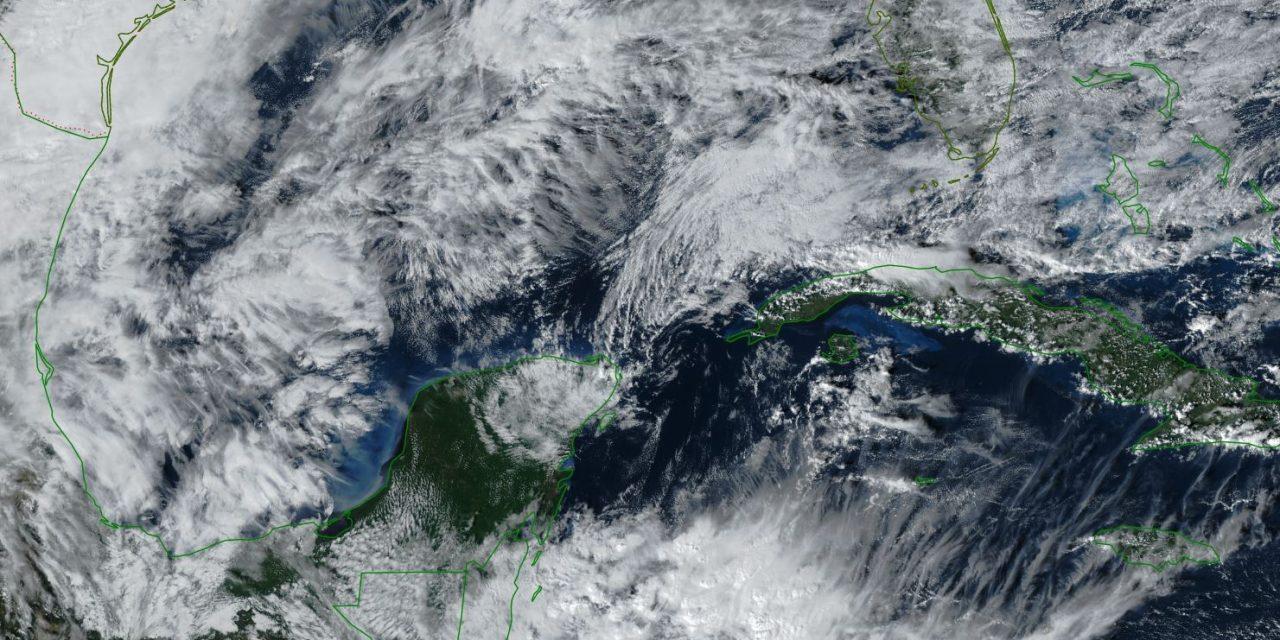 """Península Yucatán: """"norte"""" de moderado a fuerte el domingo y más frío el lunes"""
