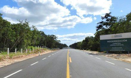 Concluye ampliación y modernización de la carretera Mérida-Chetumal