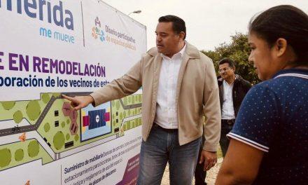 Camina proyecto de Gran Pulmón de Mérida en el Poniente