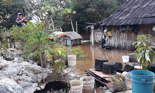 Efectos menores de frente frío en municipios y Mérida