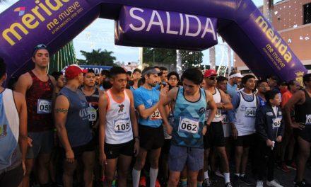Carrera de San Silvestre, en Paseo de Montejo, despide el año en Mérida