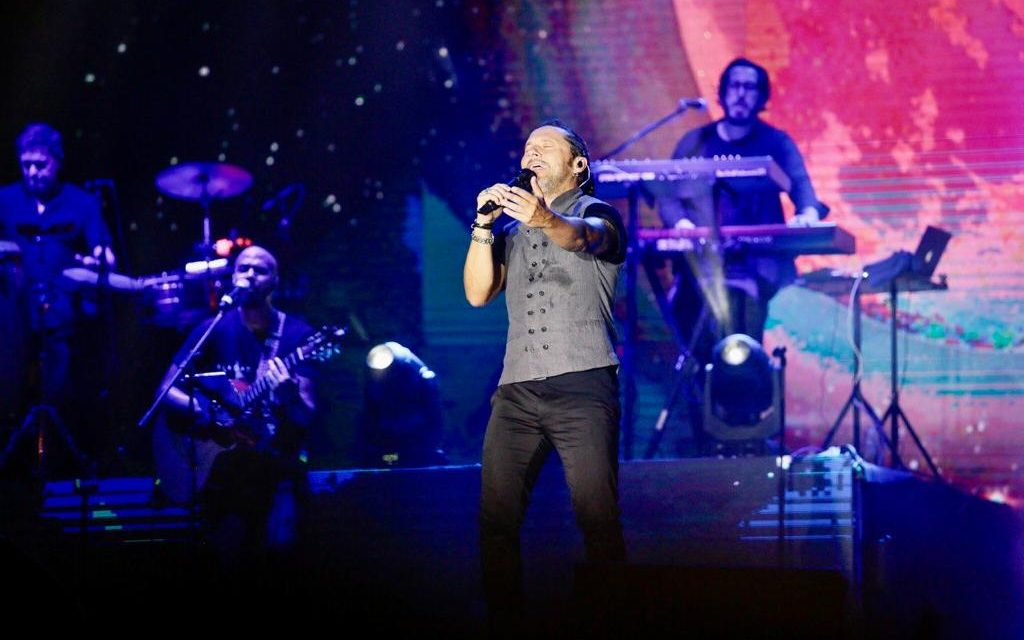 Diego Torres cantó a la ciudad en el Mérida Fest