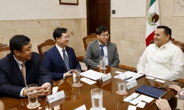Interés de ciudad china de Nanchang en fortalecer lazos y acuerdos con Mérida