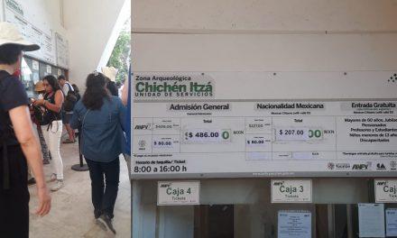 ¿Visitarás Chichén Itzá u otra zona arqueológica? Hay nuevas tarifas