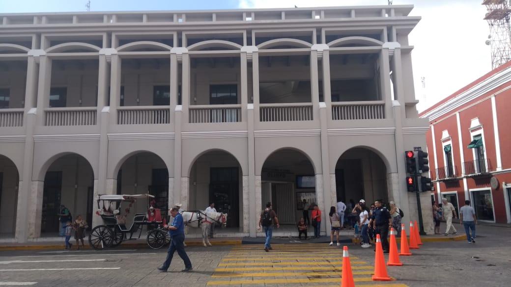 Policía de Mérida lesiona en accidente con arma a su compañero