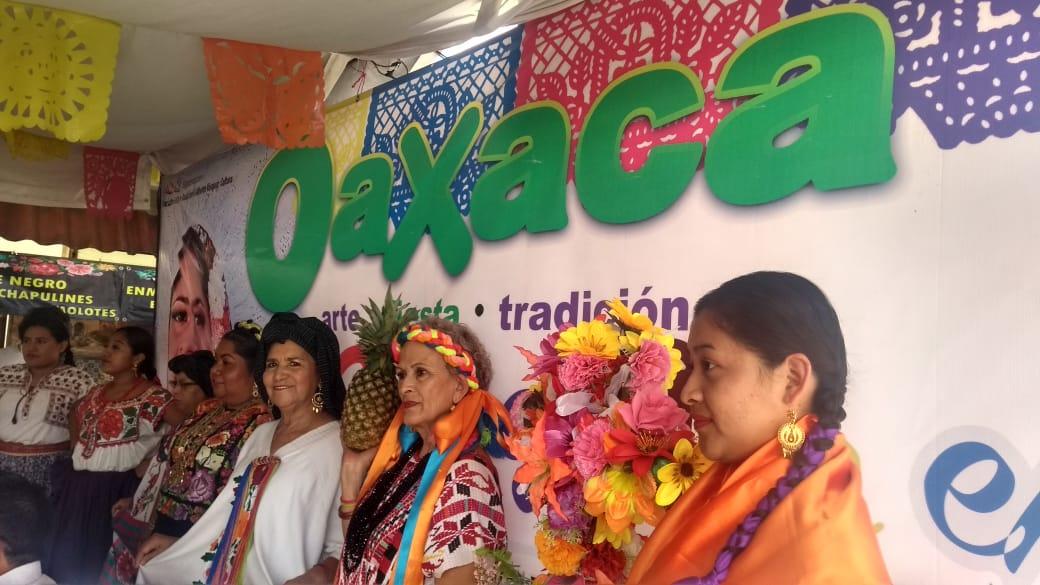 Muestra de Oaxaca en Mérida, presencia multicolor (Video)