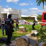 Heridos al caer de andamio en centro religioso de Mérida