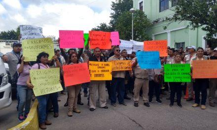 Demandan empleados de SSY mejores condiciones laborales (Video)