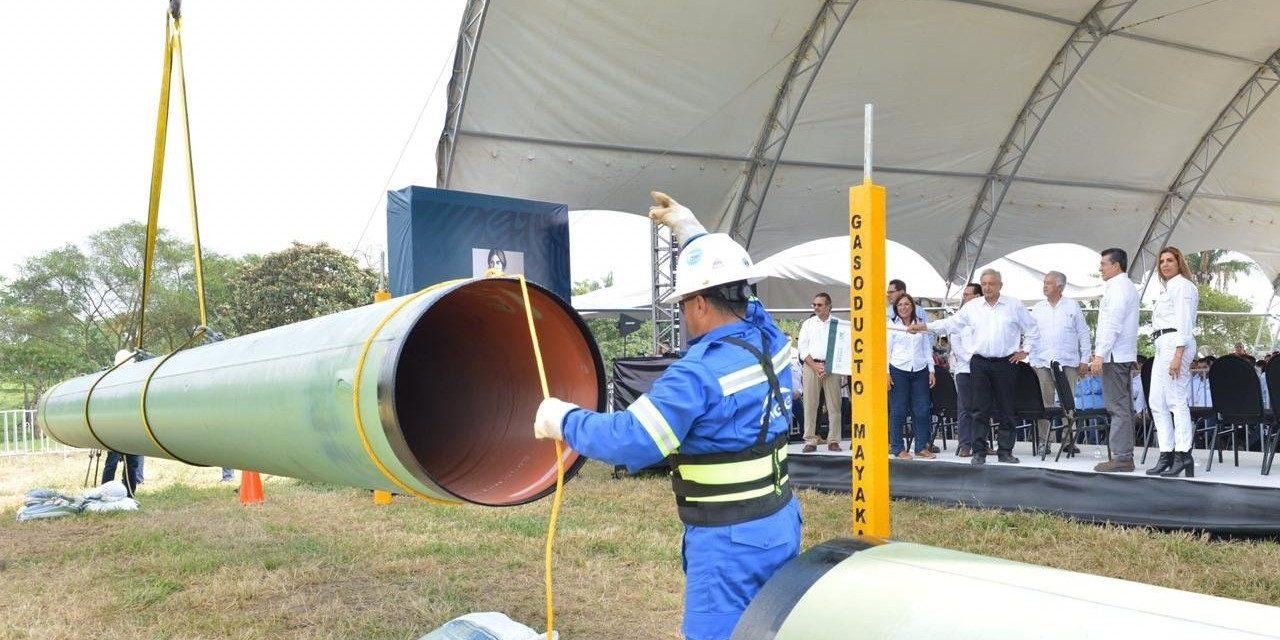 Gasoducto Cuxtal 1 elevará hasta 10 veces suministro de gas natural