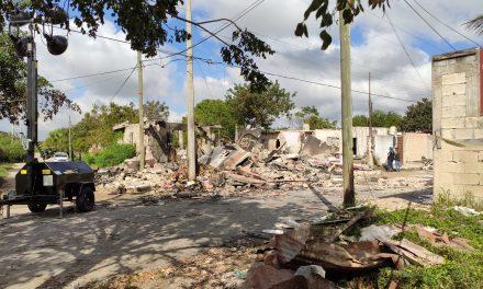 Explosión en Francisco Villa Oriente dañó unas 9 viviendas (Video)