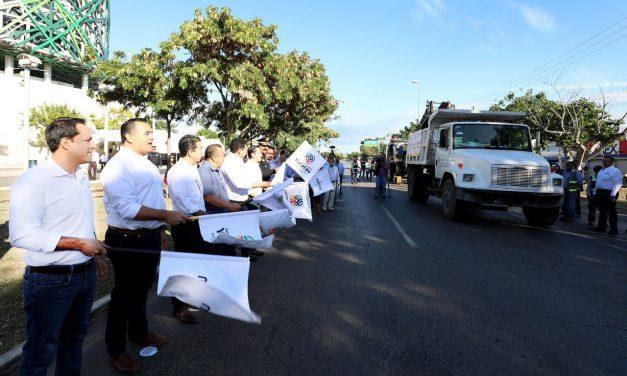 En repavimentación 3.4 kilómetros en Prolongación Paseo de Montejo (Video)