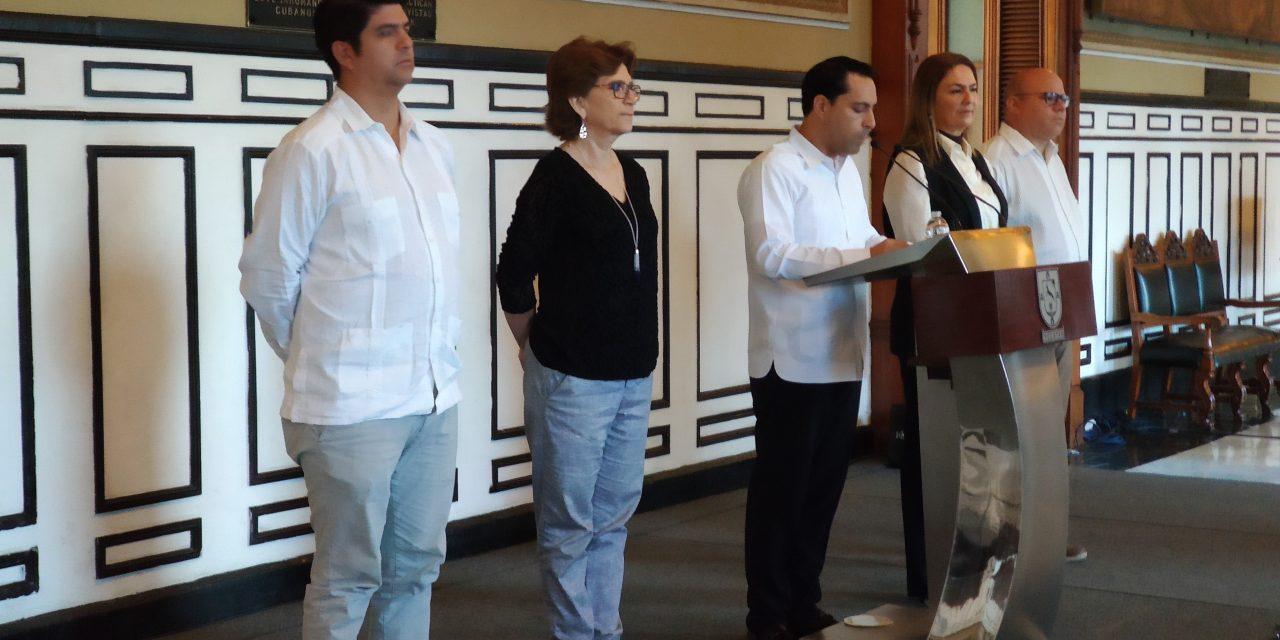 Gobernador Vila anuncia que no habrá nuevo impuesto de seguridad en Yucatán (Video)
