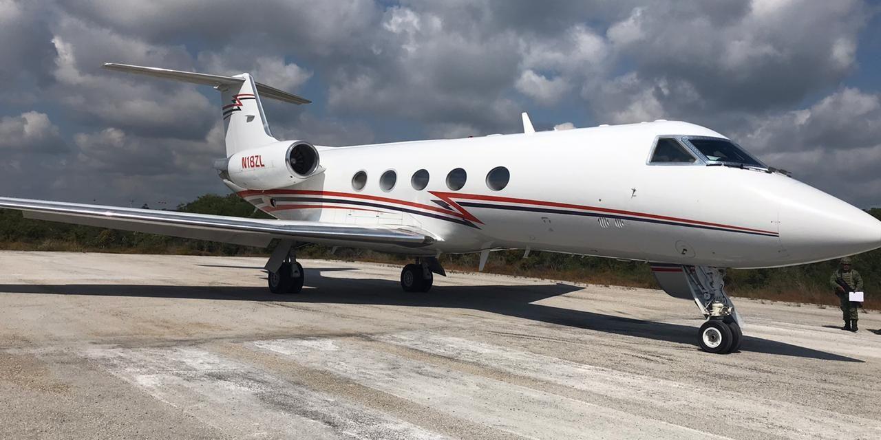 Narcoavioneta con cocaína por más de 224 MDP, en sur de Quintana Roo