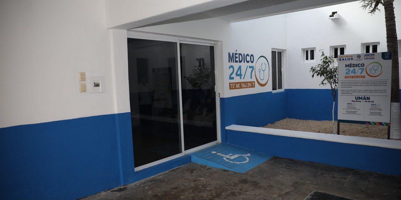 """""""Médico 24/7"""", ya en 105 cabeceras municipales de Yucatán"""