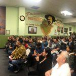 Migrantes yucatecos reciben al gobernador Vila en Estados Unidos