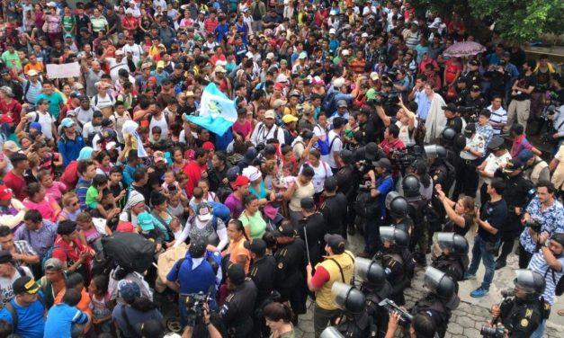De Norte a Sur: México, solo frente a la ola de migrantes centroamericanos