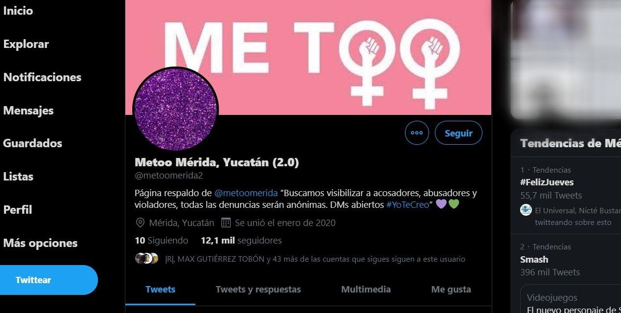 Denuncias de acoso y abuso sexual desatan escándalo en Mérida
