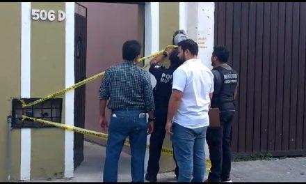 Denuncian robo a casa en centro histórico Mérida (Video)