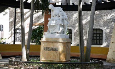 Sin rastros de grafiti: Monumento a la Maternidad, restaurado