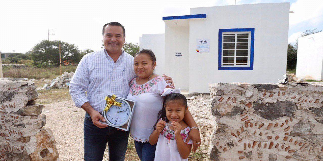 En Caucel: acciones de vivienda y ampliación eléctrica y de agua potable