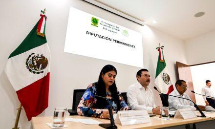 Convocan a Junta Preparatoria en Congreso Yucatán