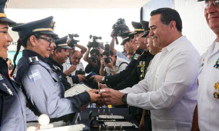 Comparte Mérida primer lugar nacional en seguridad