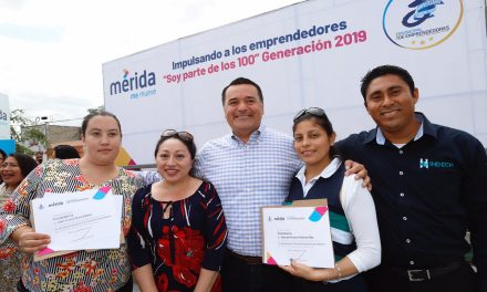 """Egresa en Mérida segunda generación de """"Soy parte de los 100"""" 2019"""