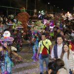 """Espectacular """"Sábado de Fantasía"""" en Carnaval de Mérida"""