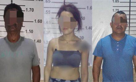 Detenidos con droga dos hombres y una mujer en Peto