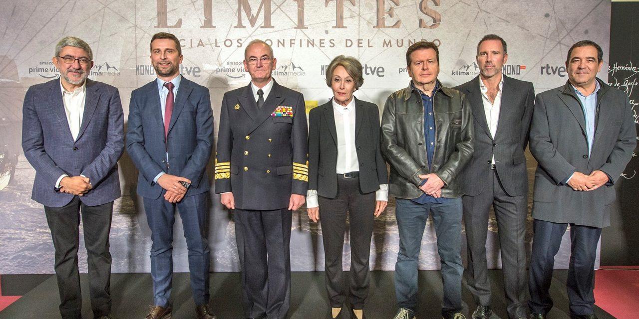 Presentan serie 'Sin límites' sobre primera vuelta al mundo de Elcano y Magallanes
