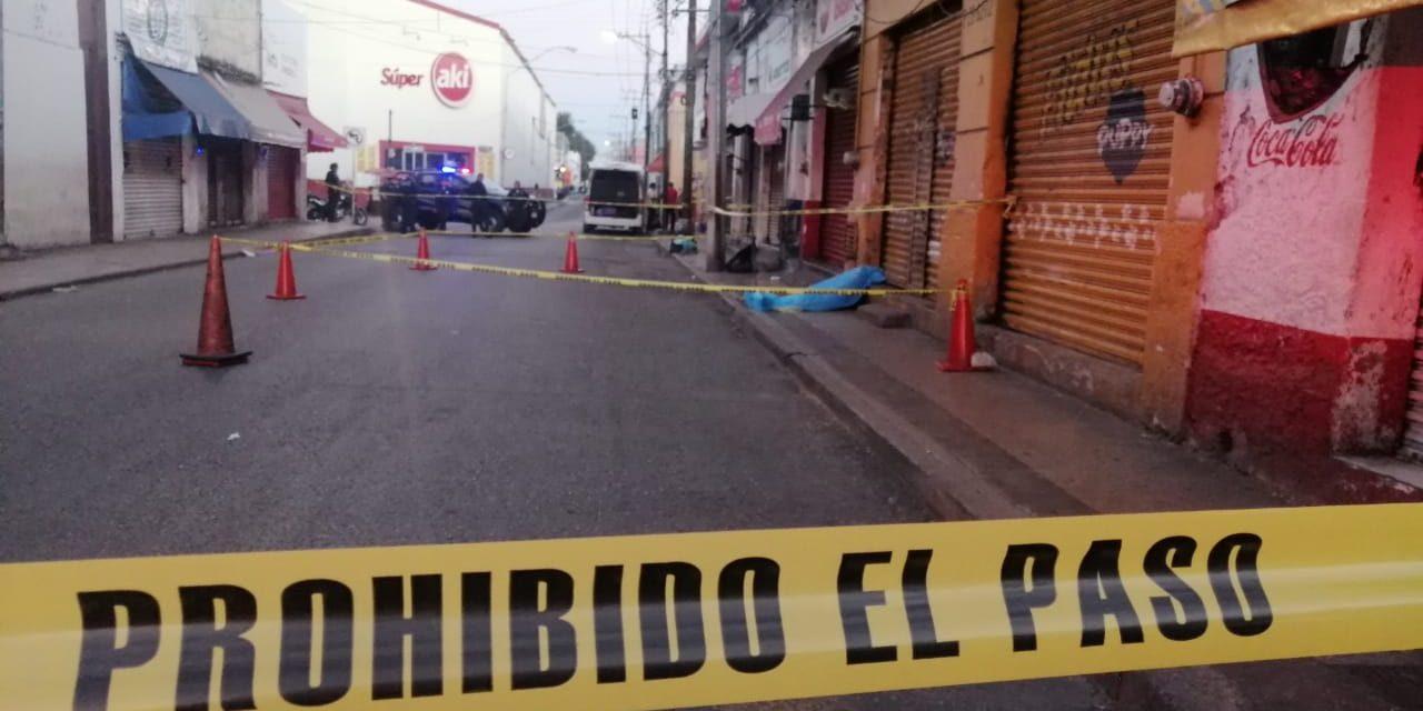 Encuentran muerto a viejito en centro de Mérida