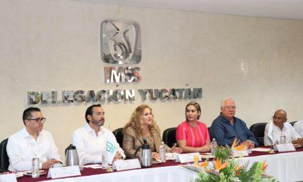 Míriam Victoria Sánchez Castro, nueva titular del IMSS en Yucatán