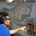 Recupera INAH-Yucatán placa colonial de esquina del Tigre