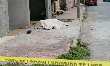 La última farra: albañil muere en la Nueva Pacabtún (Video)