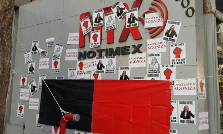 Declaratoria de huelga en Notimex que dirección de la Agencia ha desconocido