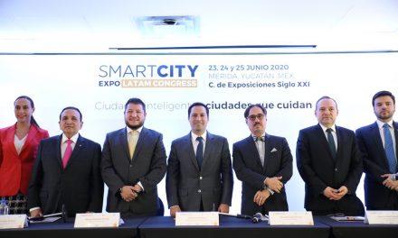 """Yucatán albergará el Smart City Expo LATAM Congress, """"Ciudades inteligentes, Ciudades que cuidan"""""""