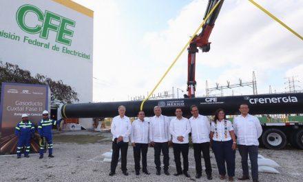 En marcha obras para más gas natural y mejor suministro eléctrico