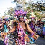 """Alegre y multitudinario """"Domingo de Bachata"""" en Ciudad Carnaval"""