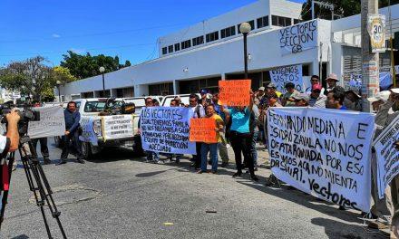 En plena emergencia sanitaria, trabajadores de Vectores protestan