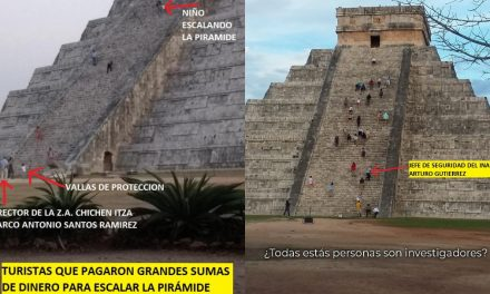 "A ""paseos no autorizados"", en Chichén Itzá suman otras anomalías"