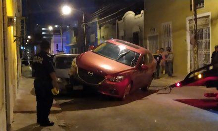 Presuntos alcoholizados terminan en brutal choque (Vídeo)