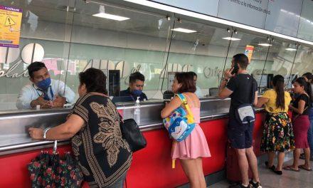 Cerco adicional contra Covid-19 en terminal de autobuses (Video)