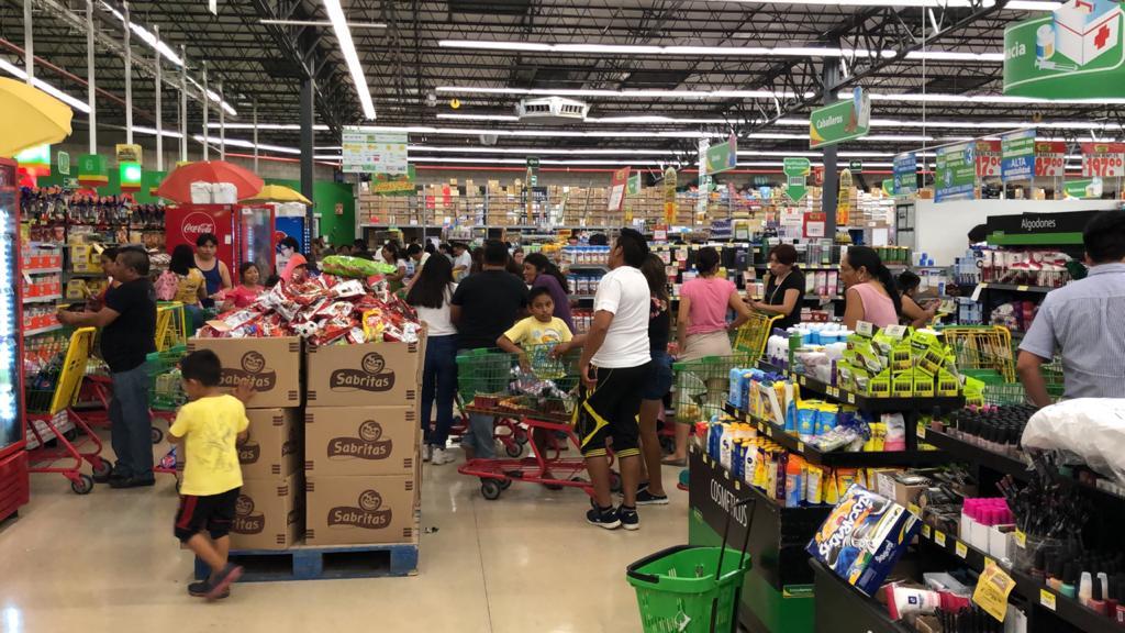 Abasto normal de productos básicos; reprueban compras de pánico