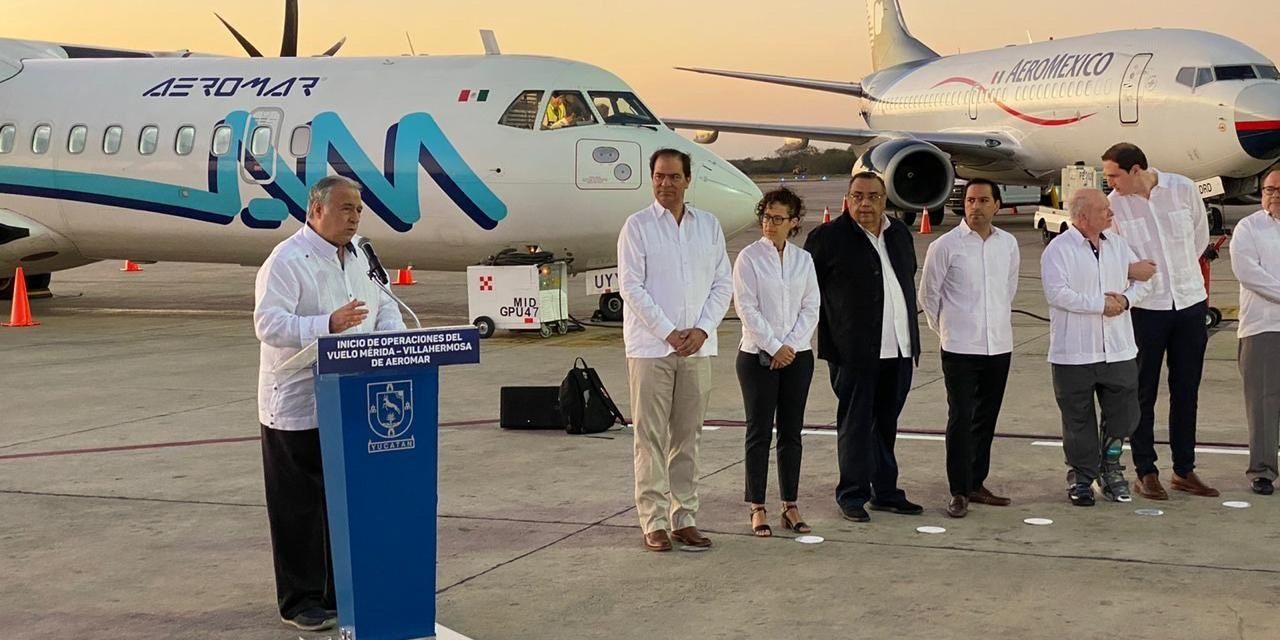 Sureste de México, con nueva conectividad aérea regional