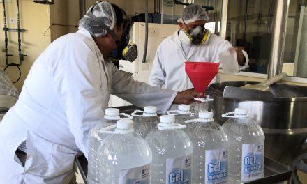 UADY, nueva proveedora de gel antiséptico a dependencias públicas