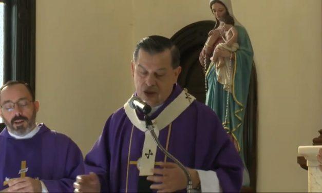 Dar giro al materialismo y egoísmo.- Arzobispo