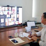 Encuentro virtual de alcaldes de España y AL; Mérida aborda tema de Covid-19