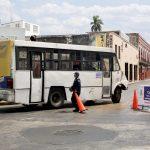 Baja 80% flujo vehicular en Centro Histórico Mérida por cruceros cerrados