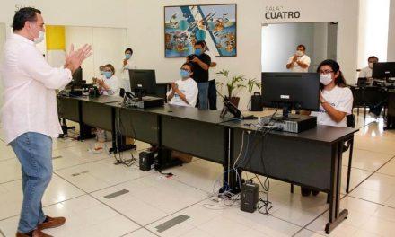 """""""Apoyos emergentes"""" y call center, para población más vulnerable en Mérida"""