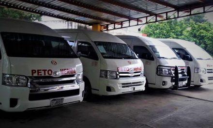 Suspenderán, hasta nuevo aviso, servicio de colectivos ruta Peto-Mérida